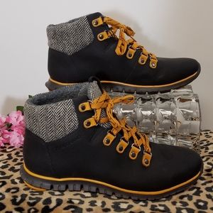 Cole Haan Shoes Boots Zerogrand Hiker Black 6.5